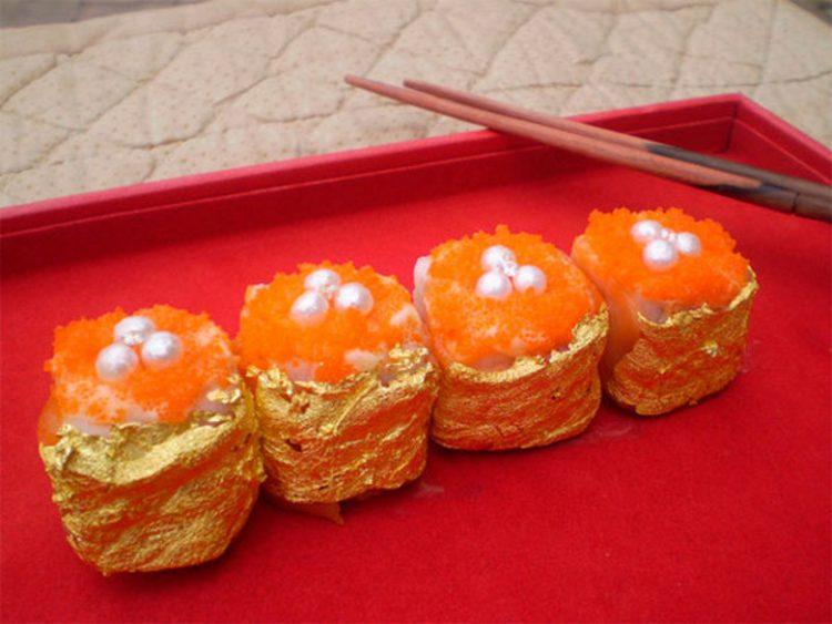 Суши с драгоценностями