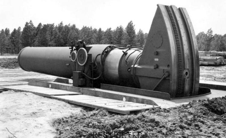 «Маленький Давид» - самая большая пушка второй мировой войны
