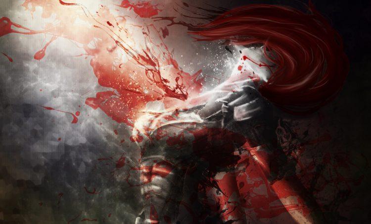 кровь из раны