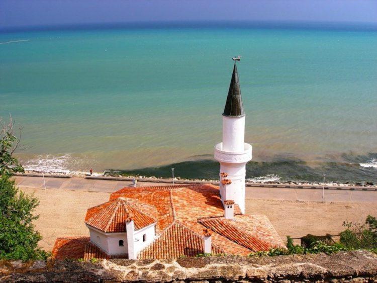 Город Балчик в Болгарии