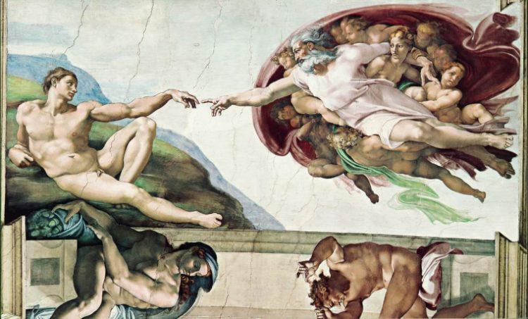 «Сотворение Адама»