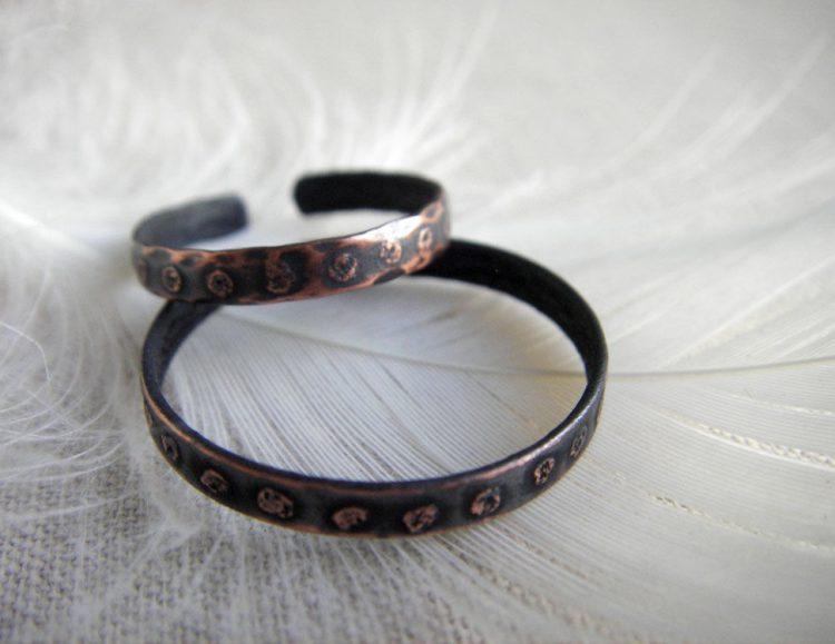 Медные кольца