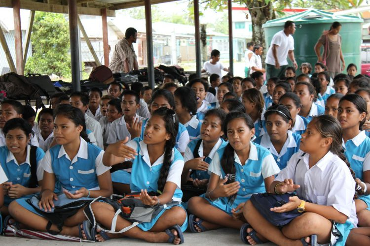 Школа в Тувалу