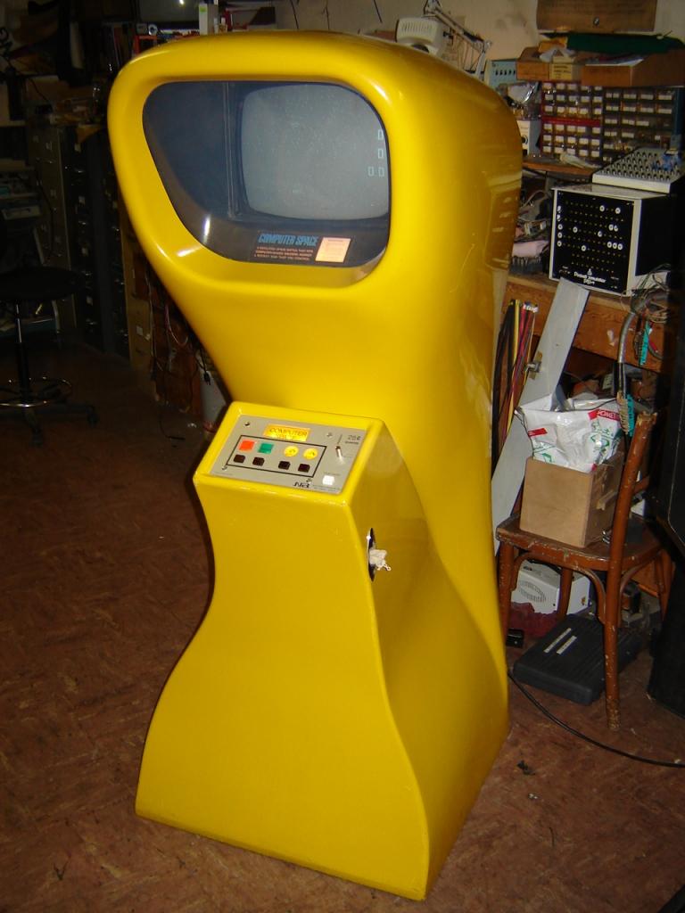 Первая компьютерная игра на игровом автомате