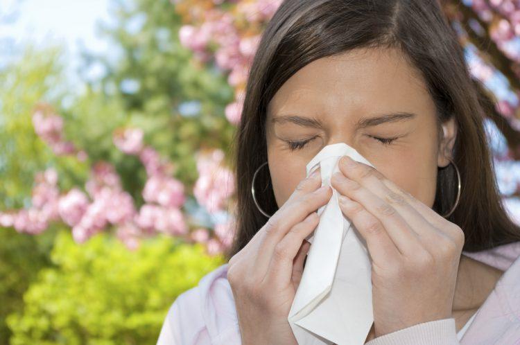 Аллергия на солнце и пыльцу