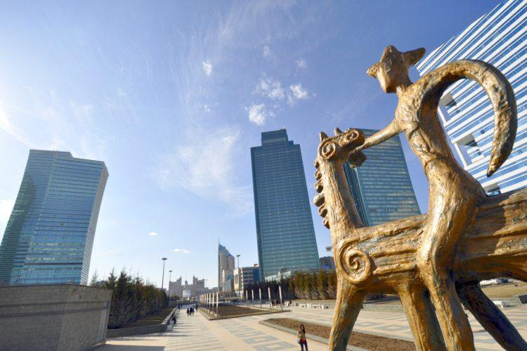 История города Астаны в Казахстане