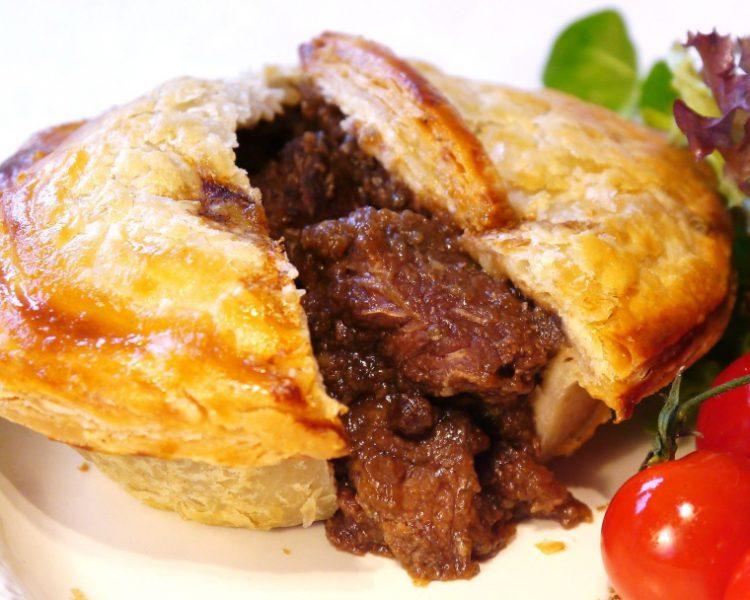 Пирог из мраморной говядины