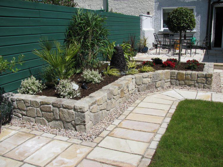 Применение добавок для цемента в садовой архитектуре