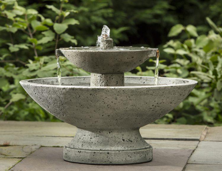 Цемент в садовой архитектуре