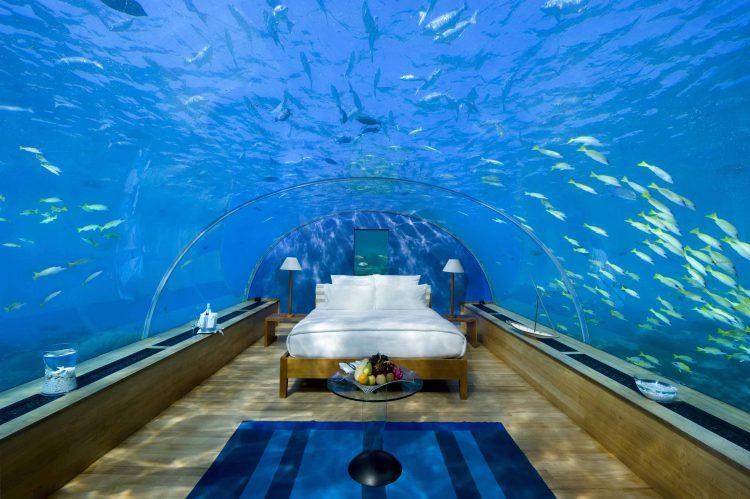 Отель-аквариум в Арабских Эмиратах