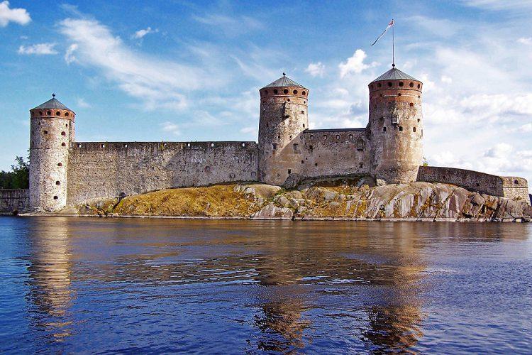 Крепость в Финляндии