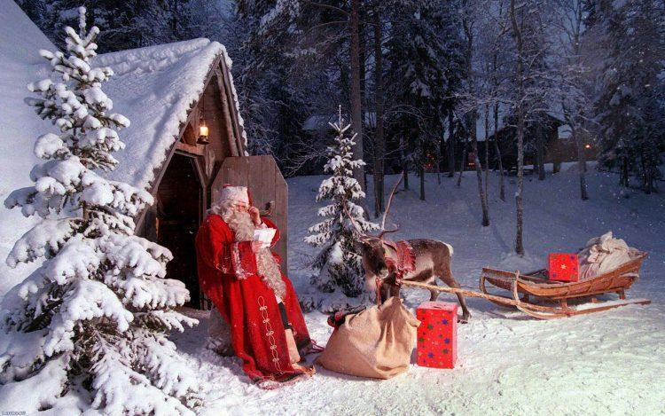 Лапландия - страна Деда Мороза в Финляндии