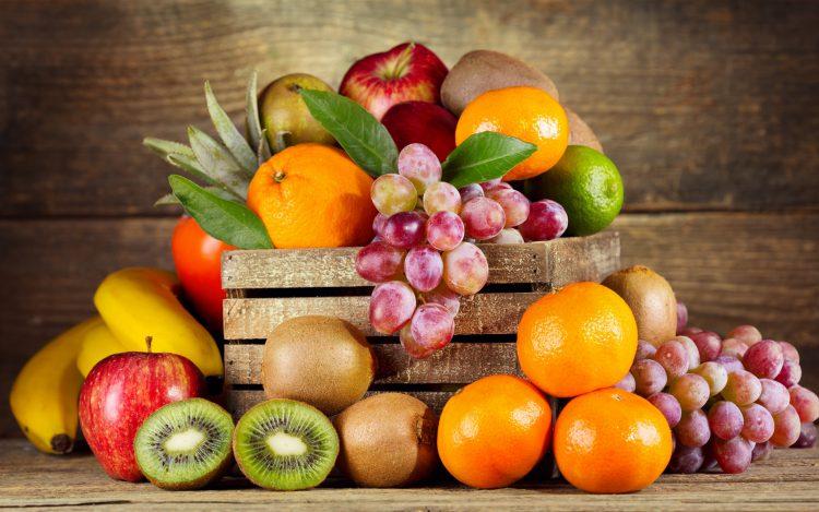 Зимние овощи и фрукты