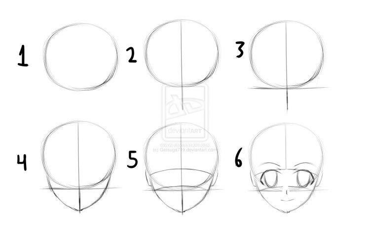 Как рисовать аниме