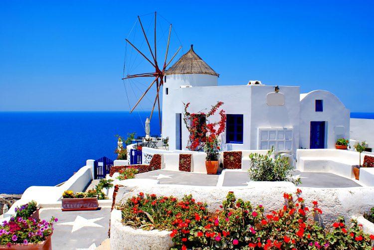Греция в апреле и марте