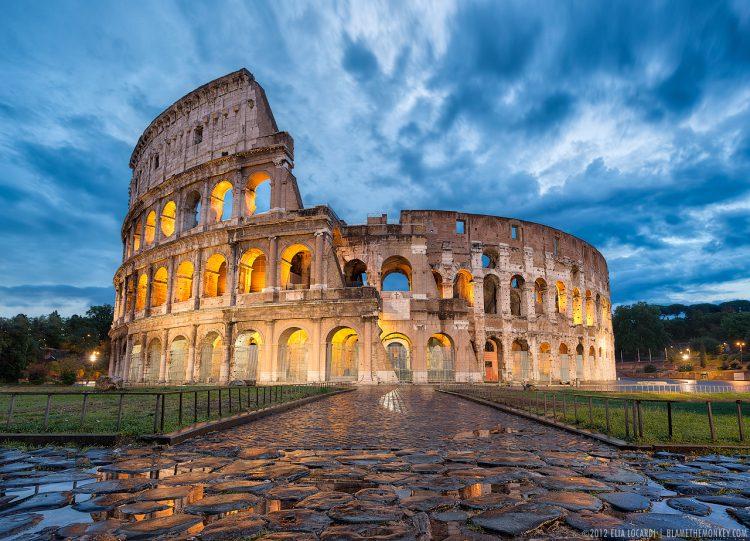 Культура Италии: Рим, Коллизей