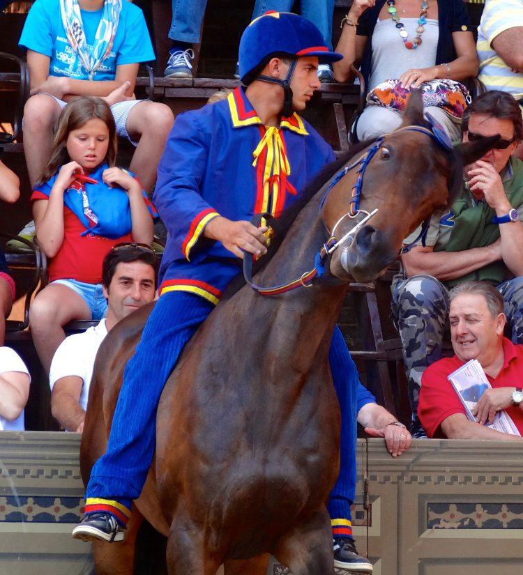 Итальянское палио - скачки на лошадях