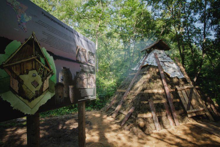 Жилище племени Мохэ