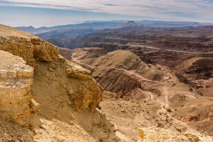 Пустыня Нагав на юге Израиля