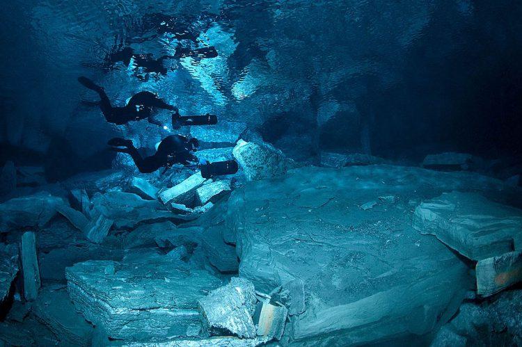 Ординская пещера для дайверов