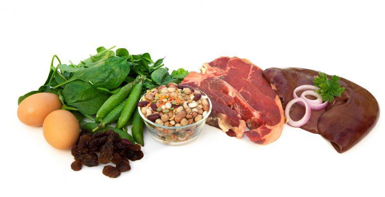 питание железо