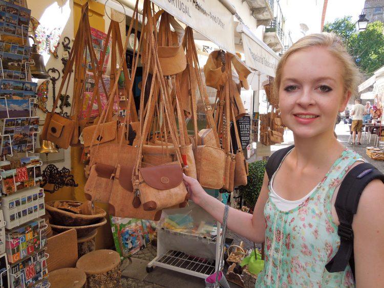 Пробковые сумки из Португалии