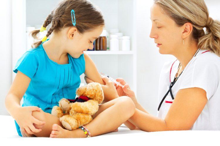 Проведение профилактических прививок дошкольникам