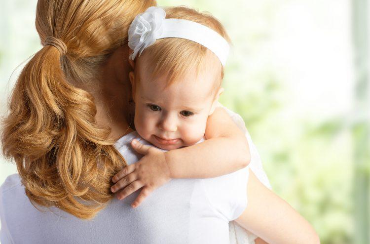 Расставание мамы с малышом