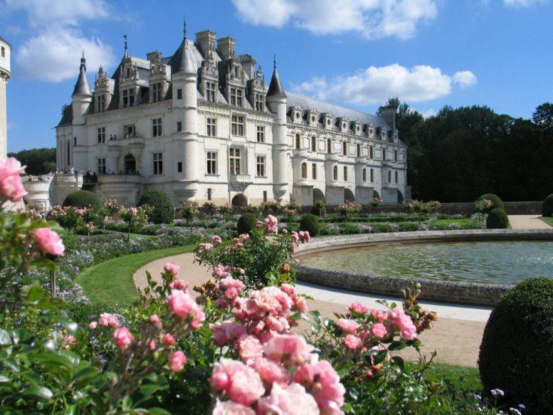 Замок Шато де Шенонсо