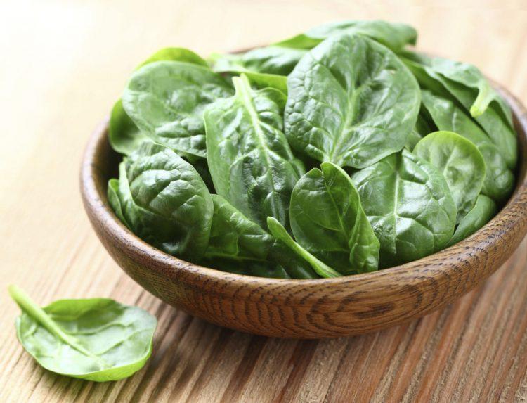 Шпинат, зеленые овощи, зелень