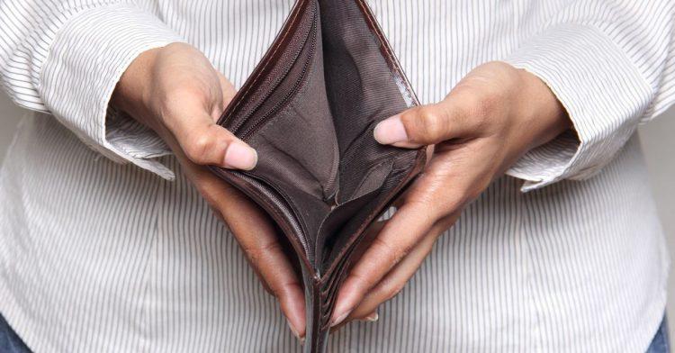 Лишиться денег