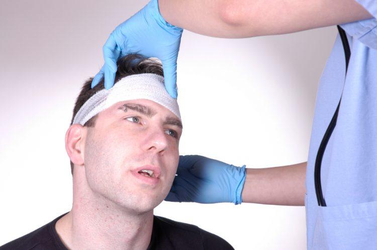 Симптоматика при травмировании головы