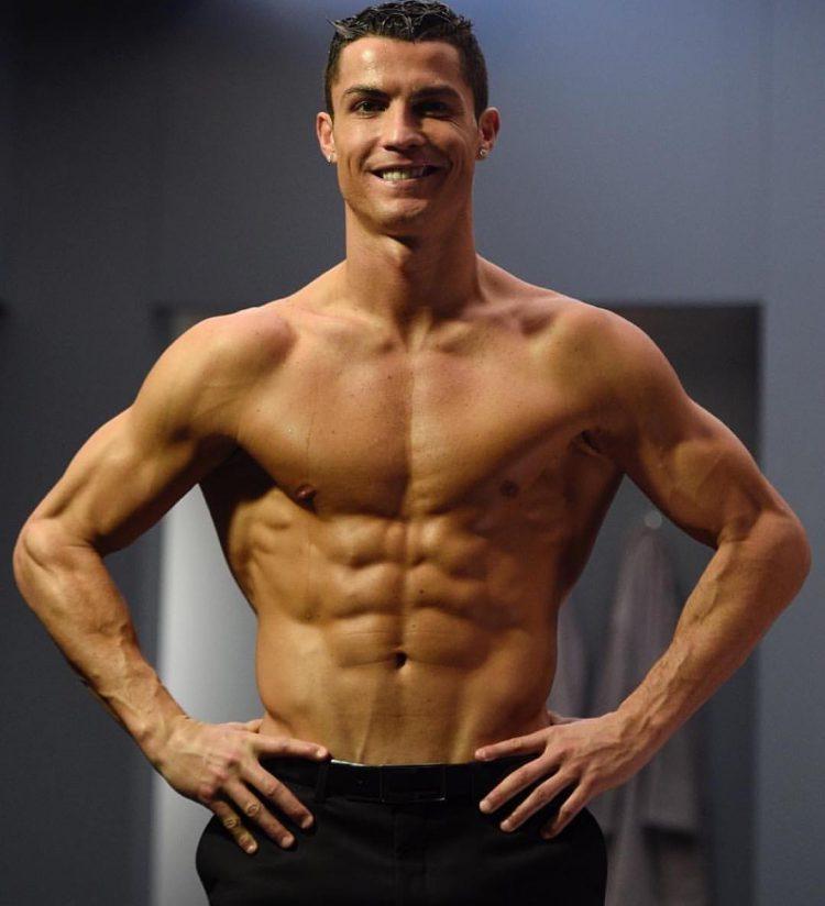 Модель для подражания в спорте Криштиану Роналдо