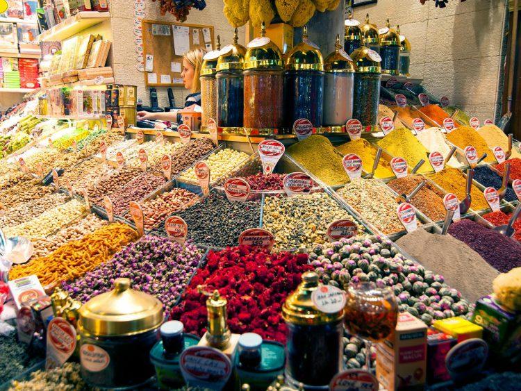 Рынки Стамбула в Турции