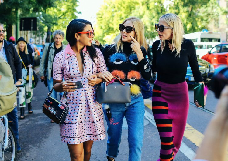 Примеры уличной моды 2016-2017