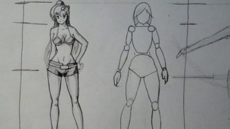 Тело аниме