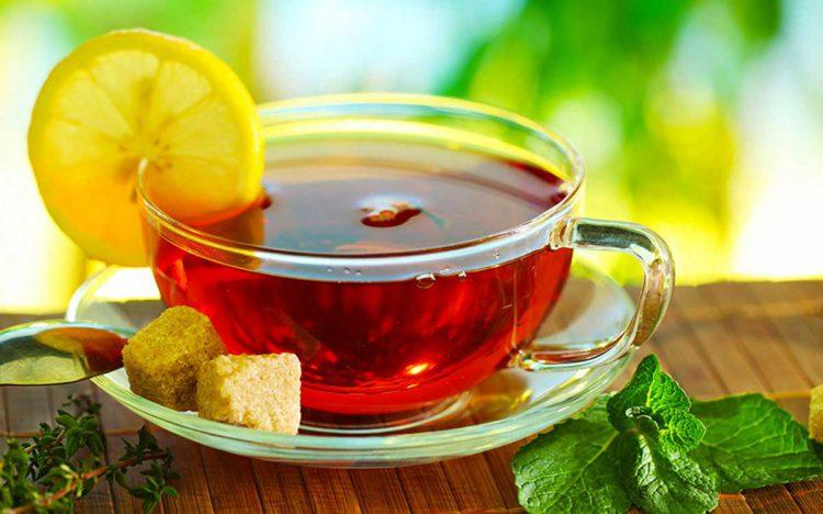 Народные средства от лакунарной ангины: чай с лимоном