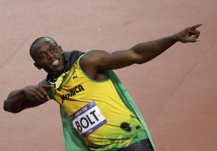 Знаменитый ямайский спринтер
