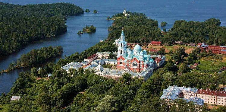 Остров Валаам в республике Карелия