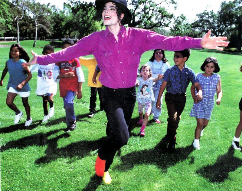 Простые ребята были постоянными гостями Майкла