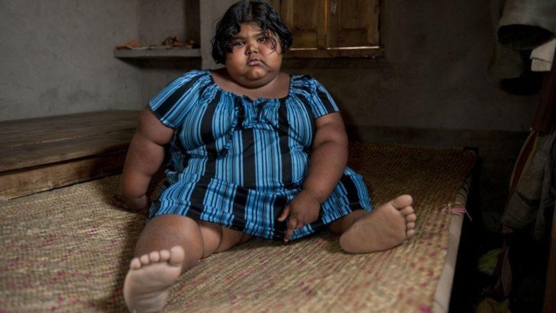 Девочка из Индии Суман Хатун