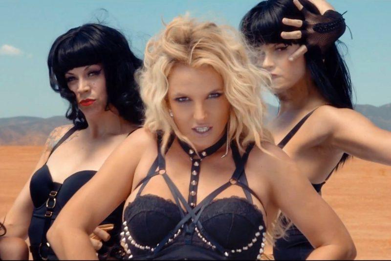 Музыкальный ролик Бритни Спирс «WorkB---»
