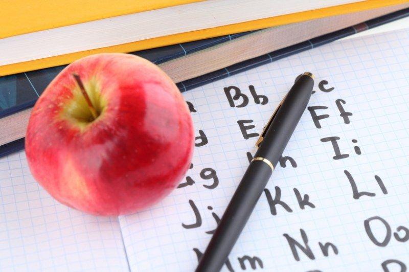 Изучение алфавита