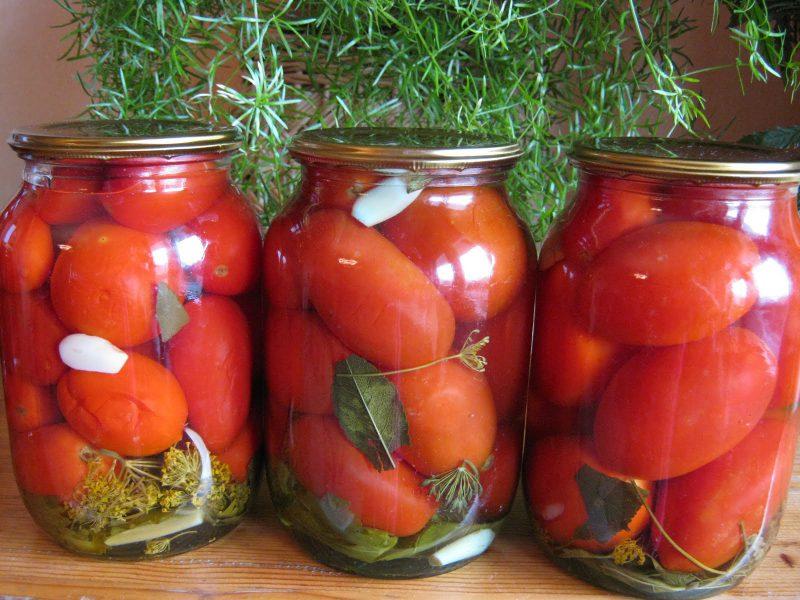 Консервированные помидоры черри «сахарные»