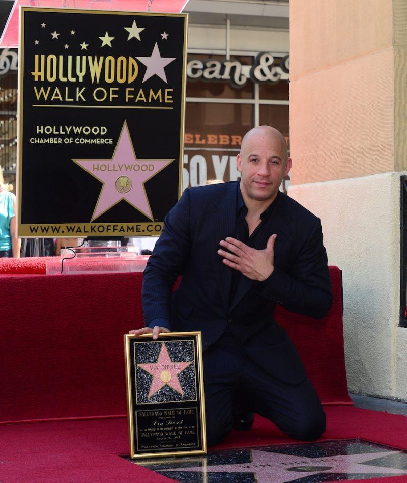 Именная звезда на Голливудской аллее славы