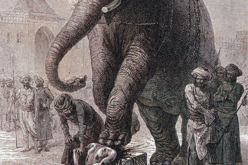 казнь слоном