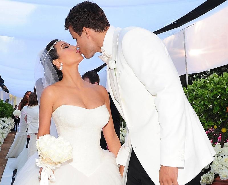Бракосочетание Криса Хамфиса и Ким Кардашьян