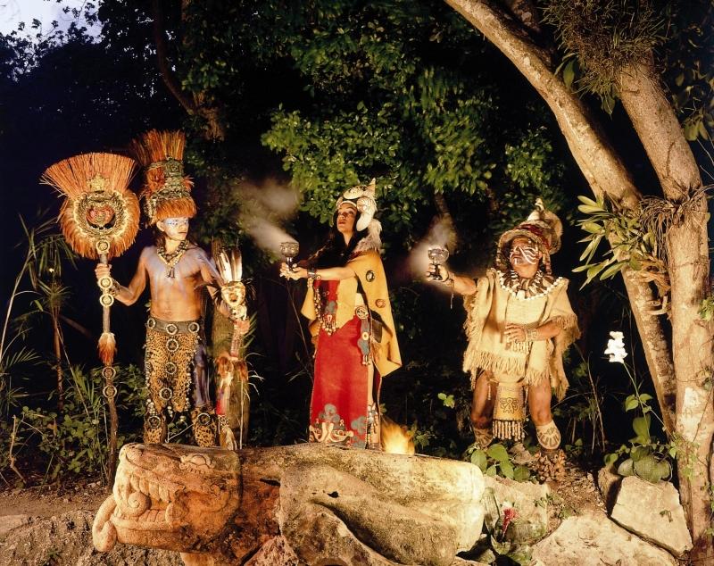 обряд инициации у индейцев
