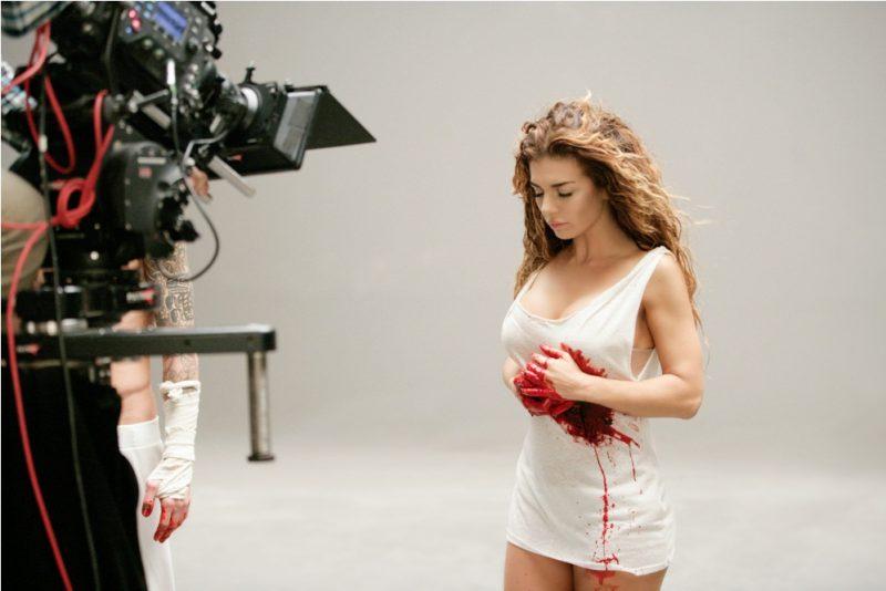 Съемки клипа «Сердце в бинтах»