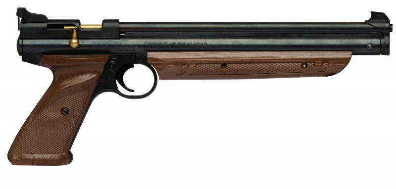 самый мощный пневматический пистолет без лицензии